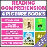 4 Picture Book Companions: Literacy Graphic Organizers BUNDLE
