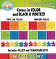 4 Piece Puzzles Clipart {Zip-A-Dee-Doo-Dah Designs}