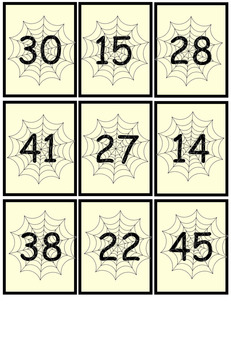 4 Place Value Halloween Games for Math Centers (Gr 1)