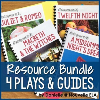 4 Plays - Shakespeare in 30: Juliet & Romeo, Macbeth, Twelfth Night, Midsummer