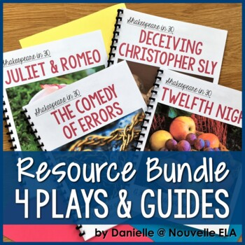 4 Plays - Shakespeare in 30: Juliet & Romeo, Twelfth Night, Comedy, Taming