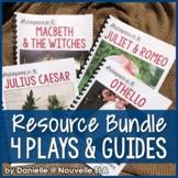 4 Plays - Shakespeare in 30: Romeo & Juliet, Othello, Macbeth, Julius Caesar