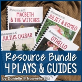 4 Plays - Shakespeare in 30: Romeo & Juliet, Othello, Macbeth, Julius Caesar