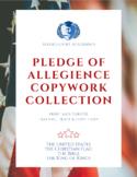 4 Pledges Copywork