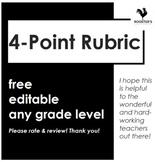 4-Point Rubric