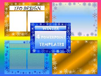 Winter Activities - Writing - Powerpoint templates