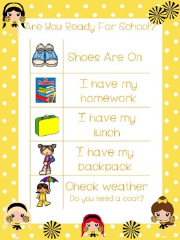 4 Printable Cheerleader Daily Routine Charts.