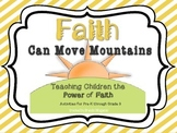 4 Printable Faith Activities - Teaching Children Faith Scripture