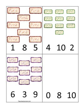 graphic regarding Preschool Math Games Printable called 4 Printable Study the 5 Senses Depend Clip Preschool Math Game titles.