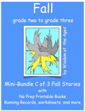 Autumn - Activities and 4 printable stories - Mini-Bundle