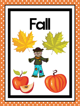 picture relating to Seasons Printable identified as 4 Printable Seasons Posters. Seasons Preschool Posters.