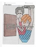4 Quadrant Coordinate Graph Mystery Picture, Deveon Basketball Failure