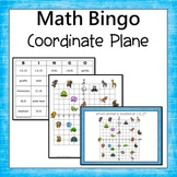 Coordinate Plane Bingo (4 Quadrants)
