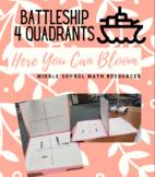 4-Quadrants Battleship Game