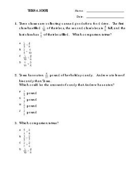4 Questions Math TEKS 4.3D[R]