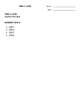 4 Questions Math TEKS 4.4A[R]