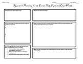4 Research Ideas Planning Forms
