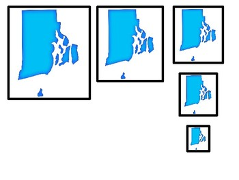 Rhode Island State Symbols Size Sequence Pre Math Learning ... on