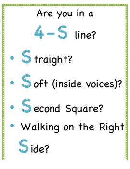 4-S Line Sign