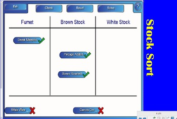 4 SMARTboard Activities for Stocks; FACS, Culinary Arts, Cooking