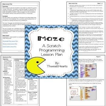 Scratch Programming Lesson Plan Bundle