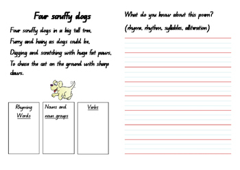 4 Scruffy Dogs Poem Analysis