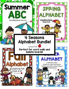 4 Seasons Alphabet Bundle!