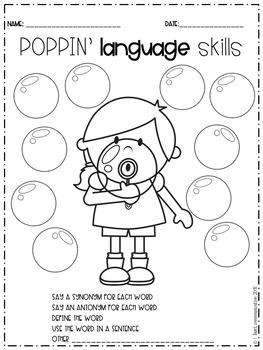 4 Seasons Bundle Quick & Easy Artic & Language Sheets