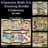 4 Seasons Math Fun Growing Bundle