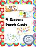 4 Seasons Punch Cards
