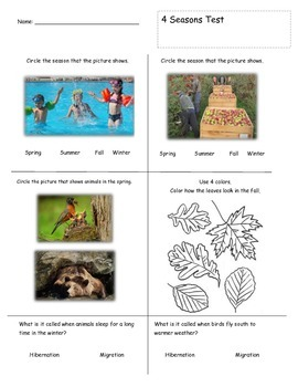4 Seasons Test - Elementary