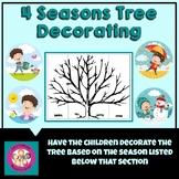 4 Seasons Tree Decorating Activity