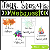 Four Seasons Webquest Bundle