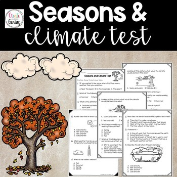 4 Seasons and Climate Test