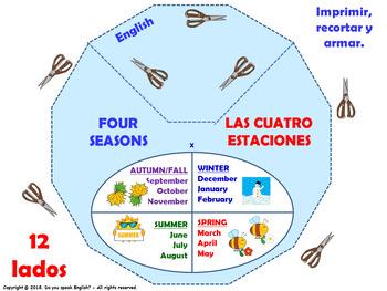 4 Seasons in English