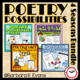 POETRY UNIT BUNDLE: Poetry Activities, Poetry Elements, Poetry Forms, Writng