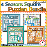 CRITICAL THINKING PUZZLES BUNDLE Seasons Brain Teasers Differentiation GATE