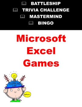 4 Self Directed Microsoft Excel Games