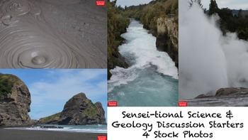 4 Sensei-tional Science & Geology Discussion Starters Stock Photos