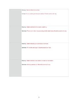 4 Sentence Types Flip Book