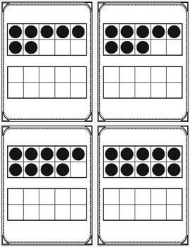 4 Sets of Number Flashcards 0-20