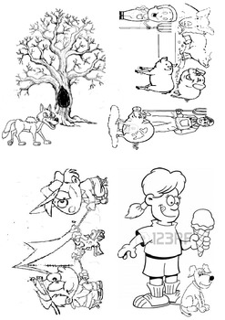 4 Short Stories inc Comprehension Questions