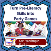 4 Speech Therapy Activities for Pre-Literacy Skills