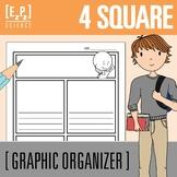 4 Square Graphic Organizer