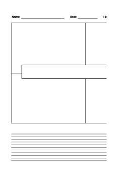 4 Square Narrative Template