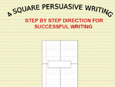 4-Square Persuasive Writing: Clear  Direction for Students