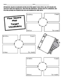 4 Square Vocabulary Map
