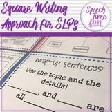 4 Square Writing Approach for SLPs