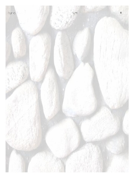 4 Square Writing Prompt - Rocks, Minerals, and Fossils