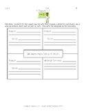 4 Square Writing Prompt - What We Learn in Math